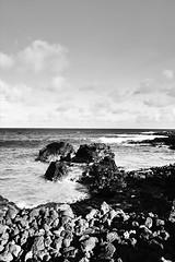 Kauai Shoreline (brp1113) Tags: beach landscape ocean hawaii rocks scenic bw shoreline tropical kauai poipu coast coastline shore