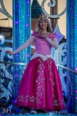 Hail to the Princess Aurora (Jojo_VH) Tags: 2017 25thanniversary dlp dlp25 disneyphotography disneyprincesses disneygirl disneylandparis disneylandparis25 lightroom sleepingbeauty sleepingbeautycastle starlitprincesswaltz april aurora castlestage disney magic show france
