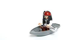 Alone (Vanjey_Lego) Tags: lego minifig minifigs minifigure minifigures boat alone jack sparrow pirate pirateofthecaribbean