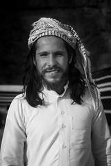 Bedouin at Rum Stars Camp (JoshyWindsor) Tags: portrait travel bedouin middleeast fujinonxf35mmf14 blackwhite jordan fujifilmxt10 rumstarscamp holiday wadirum