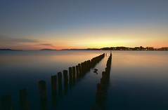 Down (Yohsuke_NIKON_Japan) Tags: shimane matsue sunset d750 nikon longexposure nature lakeshinji lake 松江 宍道湖 夕日 桟橋 山陰 sanin japan 日本