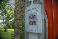 LG 17 07 09 025 (pugpop) Tags: pennsylvania pittsburgh hdr carnegie episcopal stonebuilding 330oldwashingtonpikecarnegiepa15106 oldstlukeschurchburialgroundandgarden