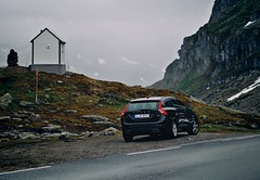 Homeward Bound (cablefreak) Tags: norway volvo volvocars v60 outpost mountains norge hardangervidda