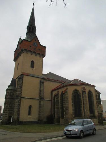 Kostel sv. Kateřiny z ulice Havlíčkova