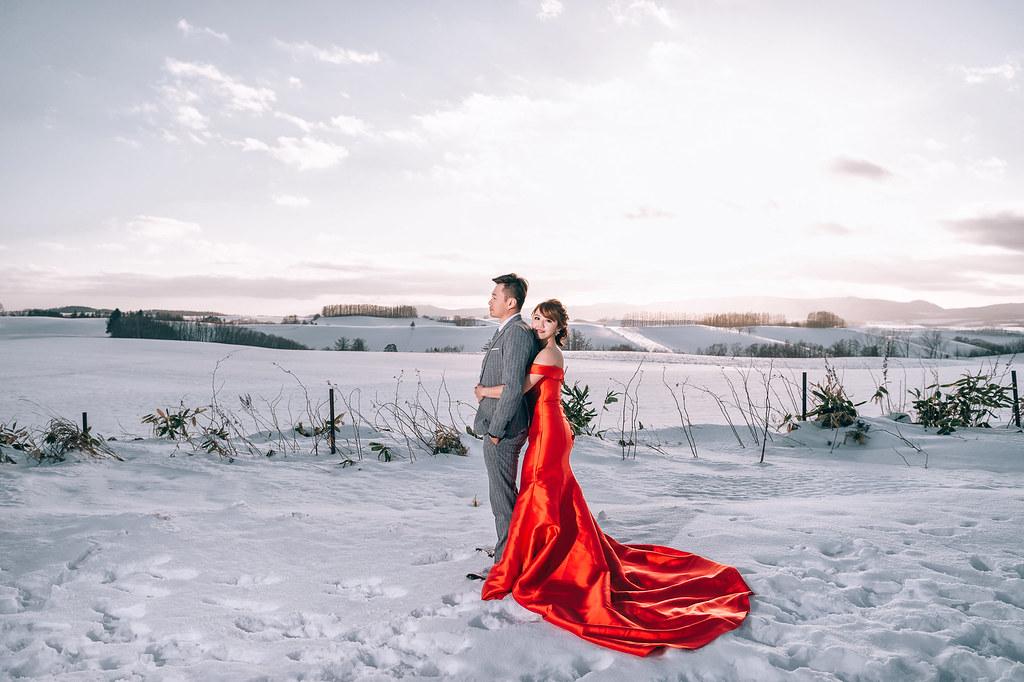 海外婚紗| 建均 & 妙齡 | 北海道婚紗