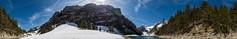 Ende April am Seealpsee, Alpstein, AI, Switzerland (360 degrees) (auggie w) Tags: panorama appenzell alpstein 360 seealpsee schneeschmelze