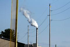 Smokestack (BenG94) Tags: wisconsin canon canon60d 60d parkfalls northwoods smokestack