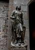 St. Joan of Arc (julesnene) Tags: bay bayofmontstmichel canon canon7dmark2 canon7dmarkii canonefs1755mmf28isusm france joanofarc juliasumangil lemontsaintmichel mont montsaintmichel normandy stjoanofarc unesco unescoworldheritagecentre unescoworldheritagesite abbey ancient commune fortification island julesnene landmark lowtide martyr monastery rocky tidal travel virgin virginandmartyr normandie fr