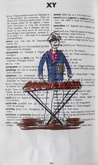 X comme Xylophone et Y comme Yachtman (chando*) Tags: aquarelle watercolor croquis sketch