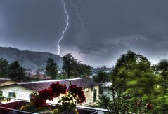 A great thunderstorm hit us last night (mmalinov116) Tags: thunderstorm storm weather windstorm flashlight flash lightning levin rain nature natural environment светкавица буря природа bulgaria българия
