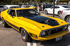 Yellow Mustang3 (Rod.T28) Tags: carshow canon1dsmarkiii canon24105mmisl cars mustang vintagecars americanmusclecars