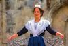 Camarguaise (Xtian du Gard) Tags: arlésienne camarguaise folk folklore danse nîmes féria painting portrait woman digiart xtiandugard