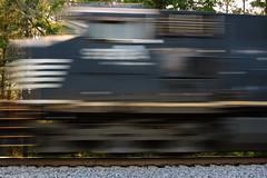 On the Fast Track (Fred Watkins (kg4vln)) Tags: kg4vln nikon d70s railroad railfans norfolksouthern