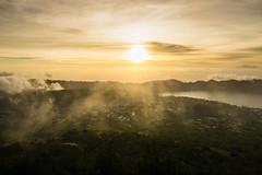 Sunrise at Mt Batur (AngstyRandi) Tags: baturlake agung bali batur craterlake fog mist mountain sunrise volcano