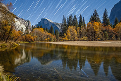 Fall Night Photography in Yosemite (Jeffrey Sullivan) Tags: fall colors yosemite national park photography workshop nationalpark half dome merced river star trails fallcolors reflection landscape travel night california usa nature canon eos 6d photo copyright november 2016 jeff sullivan sierranevada unitedstates united states