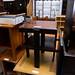 Dark oak tiered table E35