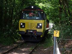 70817 Moorswater (24) (Marky7890) Tags: colasrail 70817 class70 6c35 moorswater liskeard cornwall railway train
