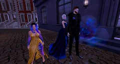 The Aristocrats (Hollow's End) Tags: second life sl hollows end he rp roleplay role play virtual world social night club hotel urban horror event nocturne alcohol drinking champagne aristocrats noble investigators dark sapphire delight roses