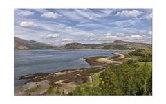 Glenelg Bay and the Kylerhea Narrows.. (Harleynik Rides Again.) Tags: glenelg kylerhea sea loch mountains highlands westcoast isleofskye westerross westernisles harleynikridesagain