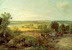 John Constable – Museum of Fine Arts (Boston) 48.266. Stour Valley and Dedham Church (c. 1815) (lack of imagination) Tags: 10001500 animals blog cart johnconstable landscape museumoffineartsboston people trees