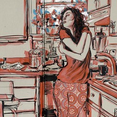 Photo (Dorian Vallejo) Tags: art fine drawing figure mixed media drawings oil painting dorian vallejo