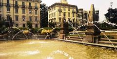 Fontana a CityLife - Milano (pattyconsumilano) Tags: citylife milano milan fontana fountainatcitylife