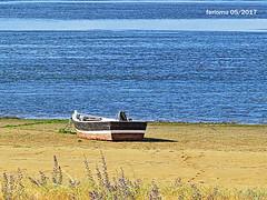 Isla Cristina. Huelva 14 esperando la marea alta (ferlomu) Tags: barco ferlomu huelva islacristina mar playa
