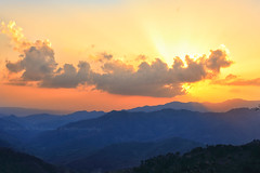 Sundown (Dead Habits) Tags: sunset layers clouds tones gnd filters himachal himalayas hills