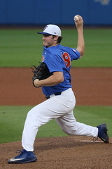 Tyler Dyson, Tonights UF Starter (dbadair) Tags: ncaa baseball omaha uf lsu gators tigers sec starters 2017 college world series winners first national title