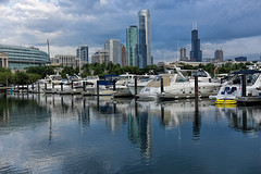 Good morning, Chicago (ElenaK@Chicago) Tags: chicago burnhamharbor morninglight