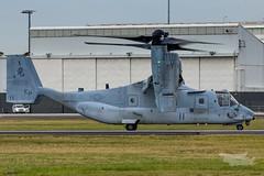 US Marines V-22 Osprey 07 YSSY-8402 (A u s s i e P o m m) Tags: v22 osprey v22osprey usmarines sydneyairport syd yssy mascot newsouthwales australia au