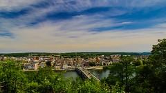 Namur - 3285 (YᗩSᗰIᘉᗴ HᗴᘉS +6 500 000 thx❀) Tags: namur belgium wallonie belgique sky pont water canon