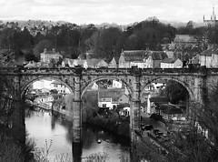 Knaresborough (Sunderland Shutterbug) Tags: knaresborough bridge river uk england yorkshire pont brucke blackandwhite bw