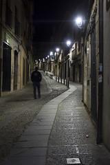 calles de Lerma ( Burgos) (Elena Alonso de Armiño) Tags: lerma castilla calles luces farolas