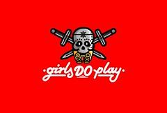 girls DO play (Filip Komorowski) Tags: girls typography logotype logo filipkomorowski komorowski games play youtube stream