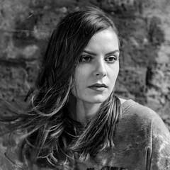 Charlotte (Hans Dethmers) Tags: model portrait portret beauty schoonheid head hoofd blackandwhite monochrome zwartwit charlottehh