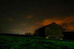 Old Barn at Midnight (Brett Streutker) Tags: water welcome aboard jet liner fligh ngiht night flying redeye sidewalk street streets urban city fog fear add tags beta remorse sad lonely thinking memory dreams nostalgia painting picture steam train lifeform alien et space sky road ufo fiction together evening ambient storms rainy all 3rd nightshift union romance love desire fantasy journey shape shifters ghosts spirits haunted abandoned nasa seti car sagan comsos pbs eternity creation god creator hubble probe