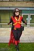 IMG_5720.jpg (Neil Keogh Photography) Tags: hero dickgrayson baton dc robe boots bulletbelt gold pants dccomics comics red female utilitybelt new52 cloak jumpsuit top mask batman cosplay redrobin black bullets cosplayer yellow bat robin