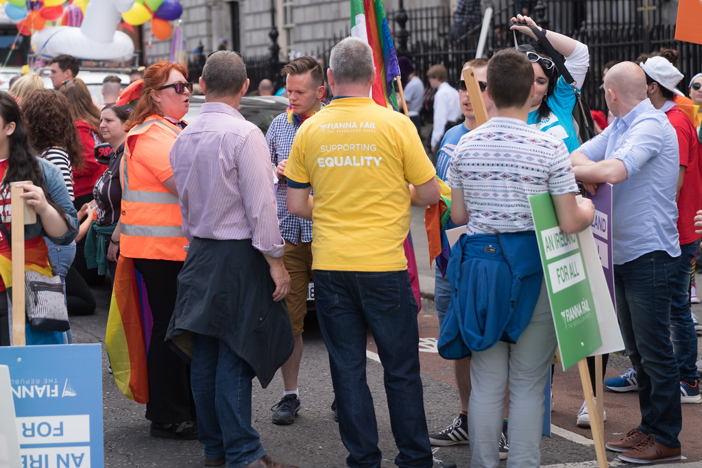 LGBTQ+ PRIDE PARADE 2017 [STEPHENS GREEN BEFORE THE ACTUAL PARADE]-129789