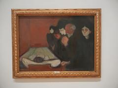 DSCN9157 _ At the Deathbed, 1895, Edvard Munch, SFMOMA (Matthew Felix Sun) Tags: sanfrancisco sfmoma museum munch edvardmunch exhibition july 2017 betweentheclockandthebed