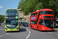 37987 - BJ11 ECX & LT86 - LTZ 1086 (Solenteer) Tags: hydeparkcorner londonunited ratp firstbeeline greenline wrightbus nbfl volvo b9tl eclipsegemini2 37987 bj11ecx lt86 ltz1086