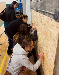20170615-CCC Graduates-5 (Clatsop Community College Graduations) Tags: clatsop community college graduates students signing signatures first graduating class redeveloped patriot hall 2017 taken by david homer