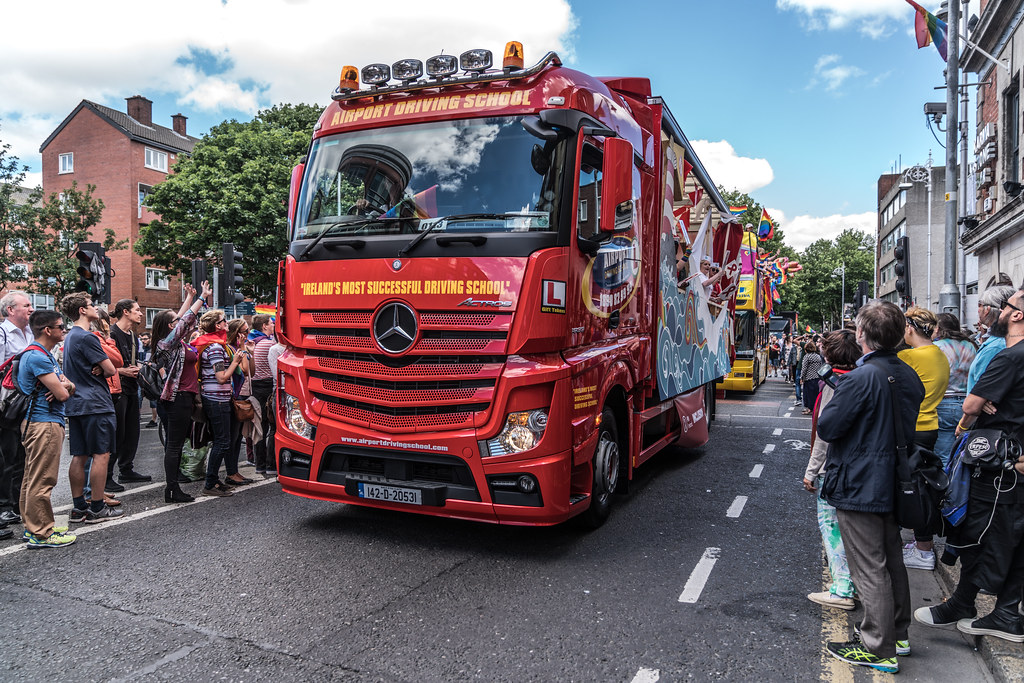LGBTQ+ PRIDE PARADE 2017 [STEPHENS GREEN BEFORE THE ACTUAL PARADE]-129896