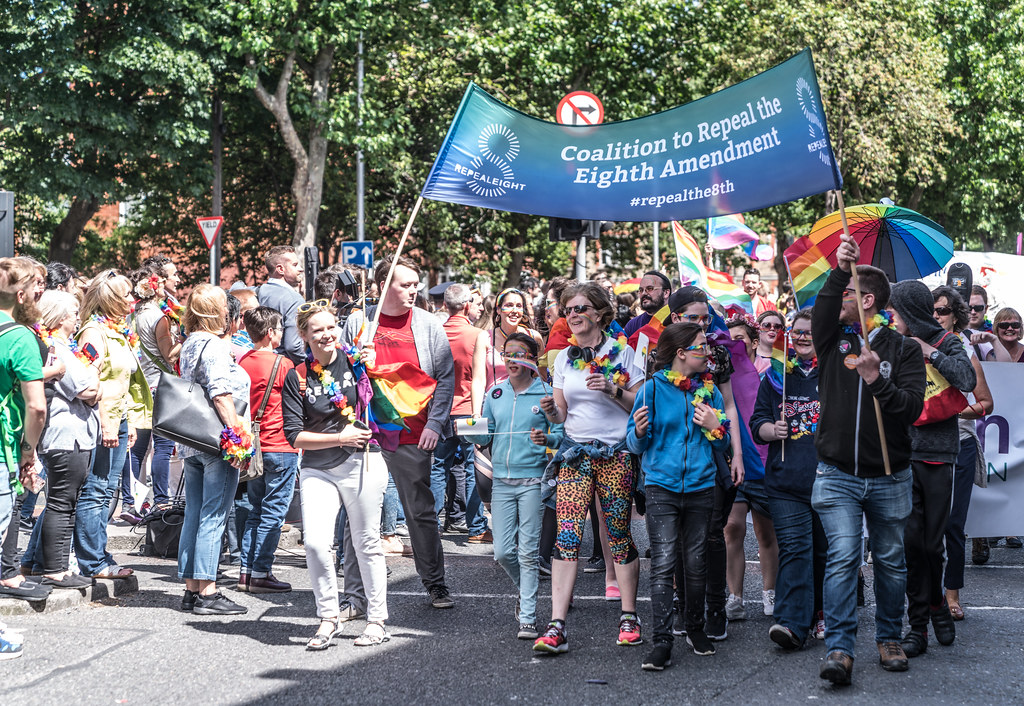 LGBTQ+ PRIDE PARADE 2017 [ON THE WAY FROM STEPHENS GREEN TO SMITHFIELD]-130067