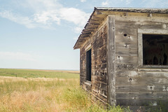 Left Hand Old House (Jesse Maack) Tags: paintedhills johnday lightroom sony sonya58 travels oregon