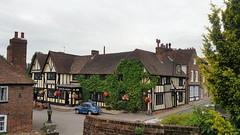 The Leather Bottle - Cobham, Kent (sarflondondunc) Tags: theleatherbottle pub cobham gravesend kent charlesdickens pickwickpapers morrisminor