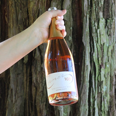 Corner 103  Rosé Sparkling Wine, Sonoma County (sarahstierch) Tags: wine vino wines drinking corner103 sonoma california winecountry promotionalphotography canon outdoors outside marketing plaza rose rosé roséwine rosewine hand winebottle champagnebottle sparklingwine