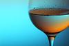 Back to basics (*Chris van Dolleweerd*) Tags: wine drink glass wineglass reflections studio strobist chrisvandolleweerd series alcohol bar liquid drops water rose closeup macro pink blue colors