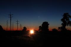 CSX 344 (CC 8039) Tags: csx cn ic cc trains ac44cw es44ac sunset twilight waddams grove illinois