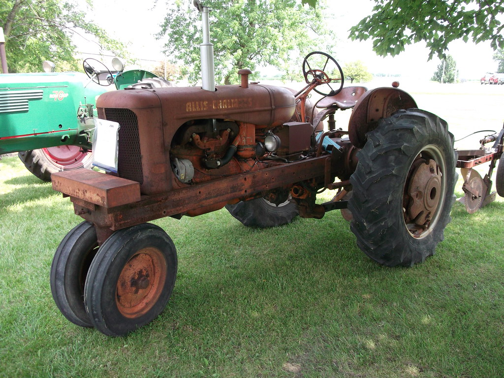 Indiana white county chalmers - 1955 Allis Chalmers Type Wd 45 Tractor Cjp02 Tags Classic Tractor Show Summer